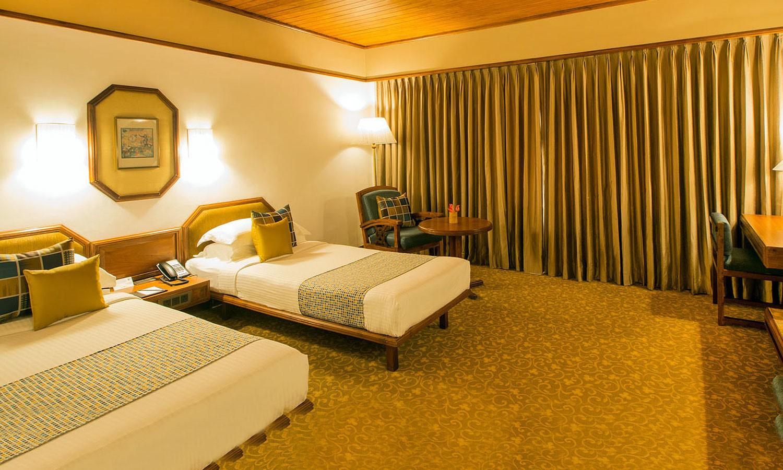 Twin Bedroom Casino Hotel Cochin