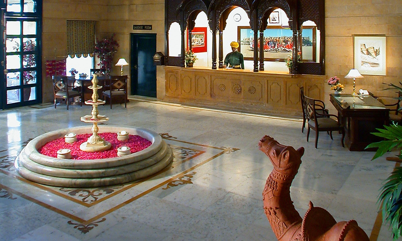 Lobby, Gorbandh Palace Jaisalmer