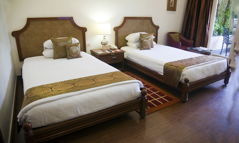 Twin Bedroom Vivanta By Taj Aurangabad