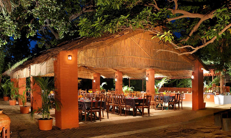 Restaurant, Maharani Bagh Orchard Retreat Ranakpur