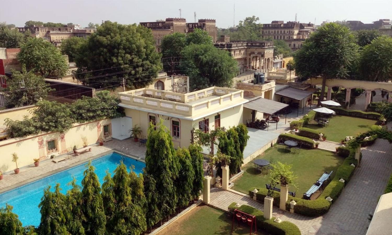 Pool, Koolwal Kothi Nawalgarh