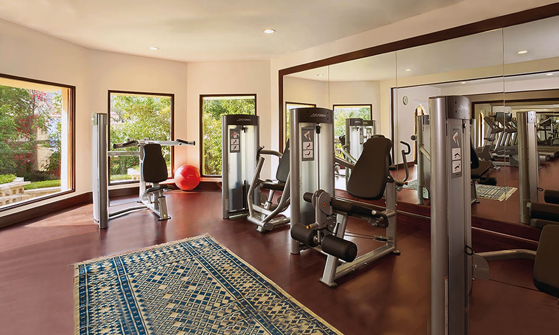 Fitness Centre Trident Hotel Jaipur
