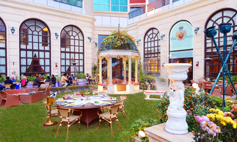 Outside Dining The Royal Plaza Delhi