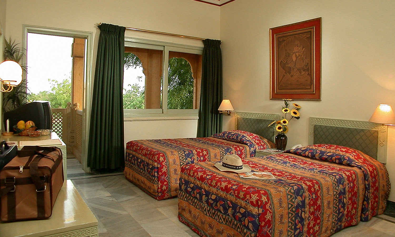 Twin Bedroom, Gorbandh Palace Jaisalmer
