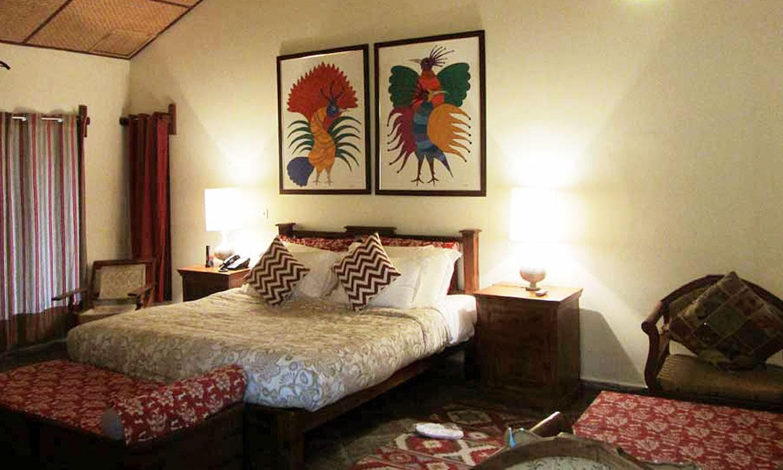Double Bedroom, Hotel Bandhavila Bandhavgarh