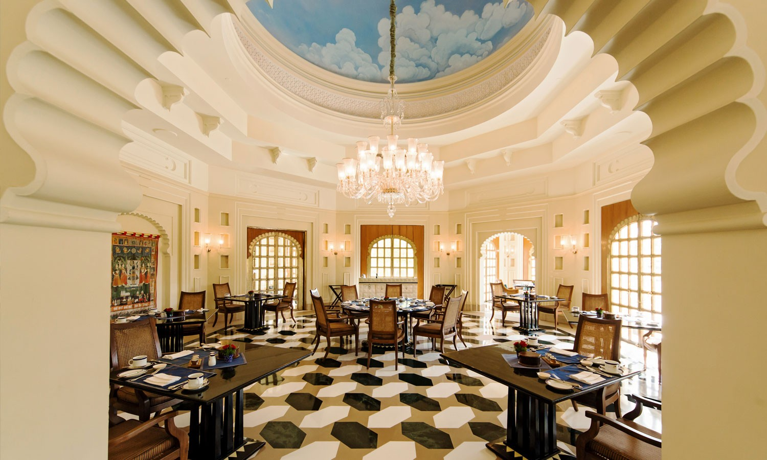 Restaurants, The Oberoi Udaivilas, Udaipur
