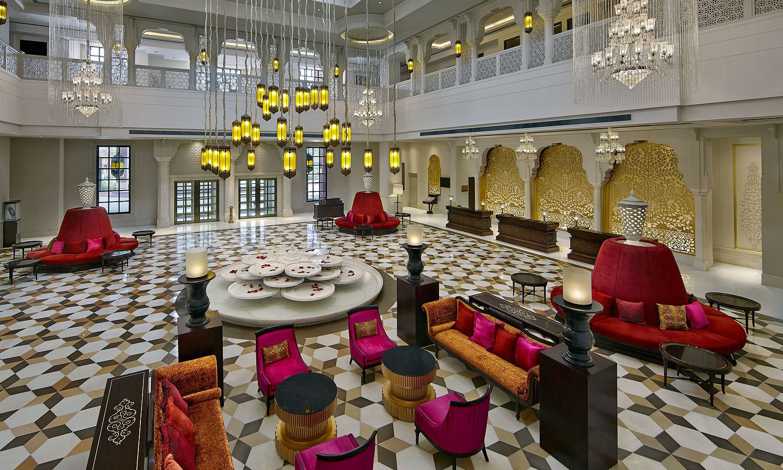 Lobby ITC Rajputana Jaipur