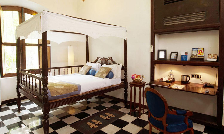 Double Bedroom, Le Dupleix Hotel Pondicherry
