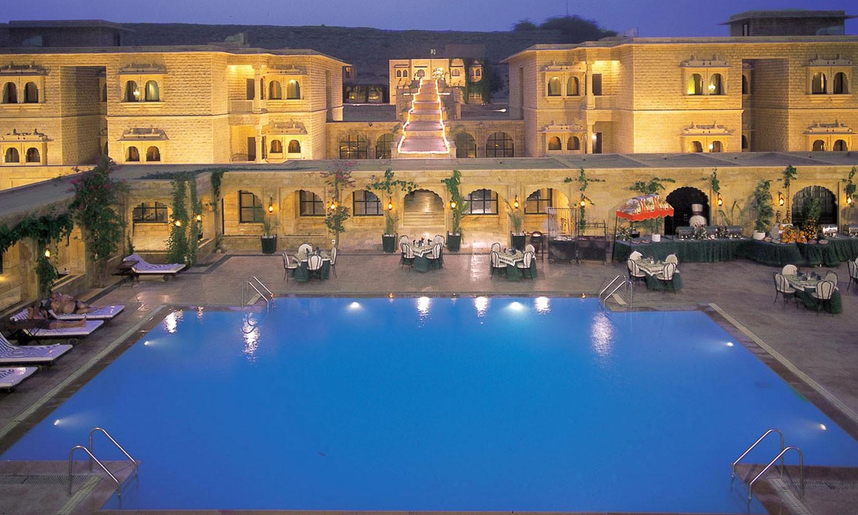 Pool, Gorbandh Palace Jaisalmer