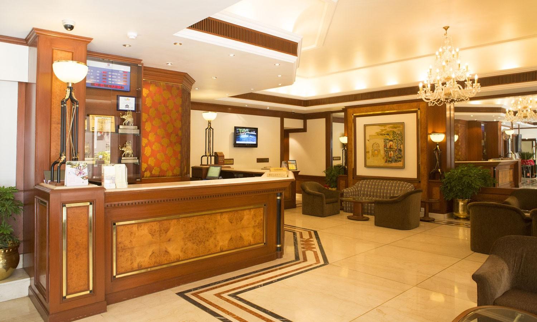Lobby Fariyas Hotel Mumbai