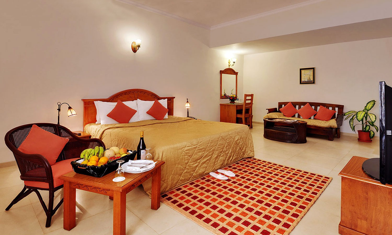 Double Bedroom Radisson Candolim Goa