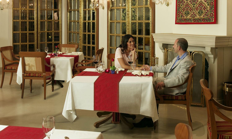 Raj Mahal Restaurant, The Oberoi, Rajvilas, Jaipur