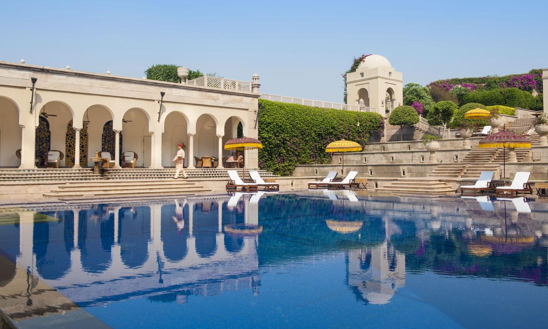 Pool the Oberoi Amarvilas Agra