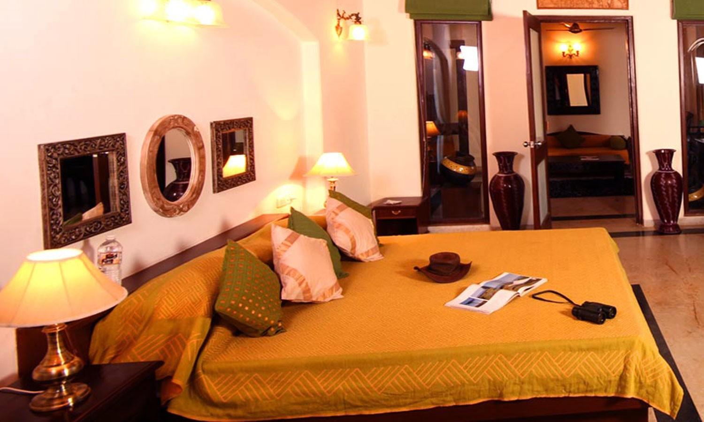 Double Bedroom, Chitvan Jungle lodge