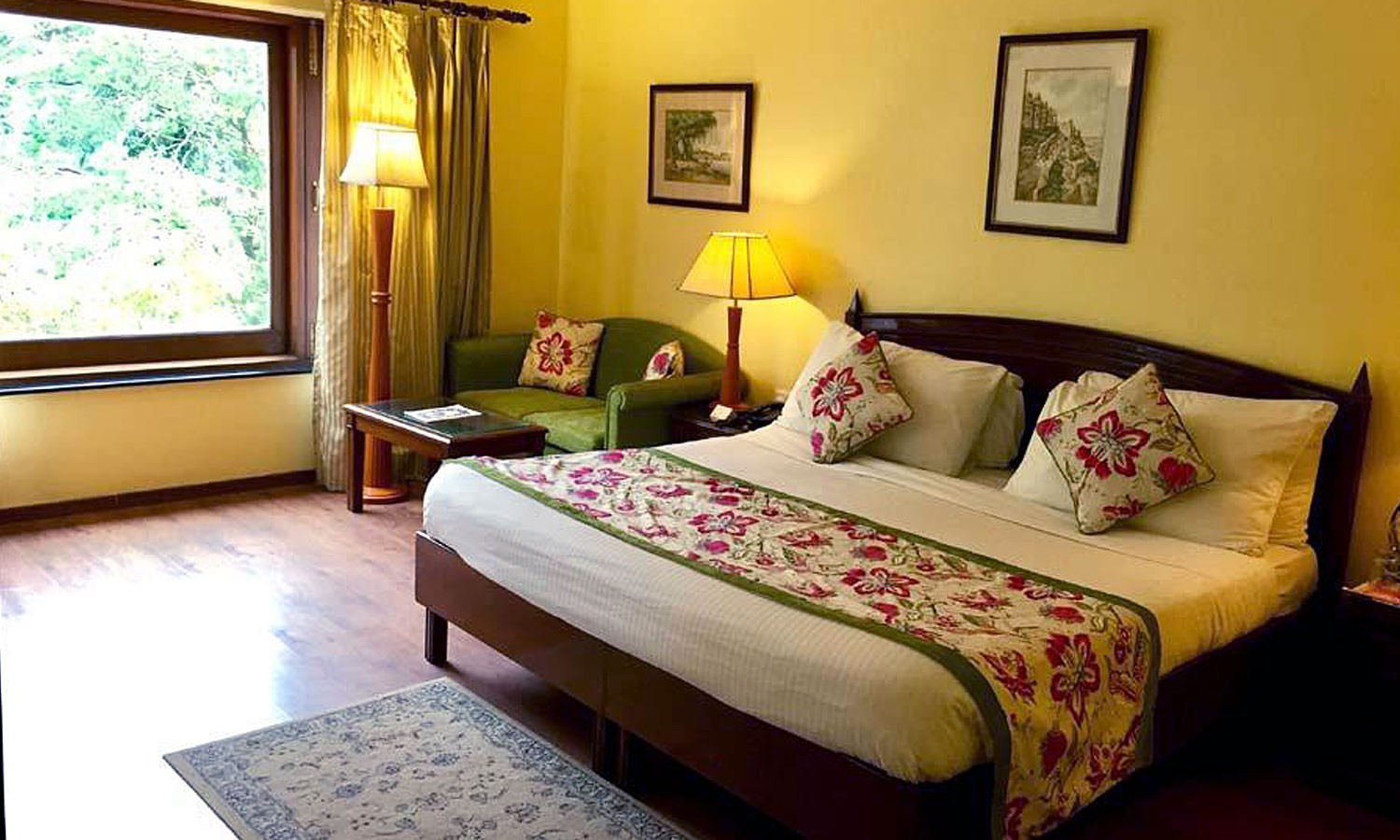 Double Bedroom, Welcom Hotel Woodville Palace