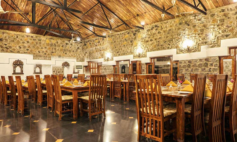 Restaurant, Hotel Bandhavila Bandhavgarh
