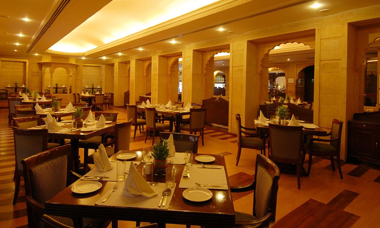 Restaurant, Gorbandh Palace Jaisalmer