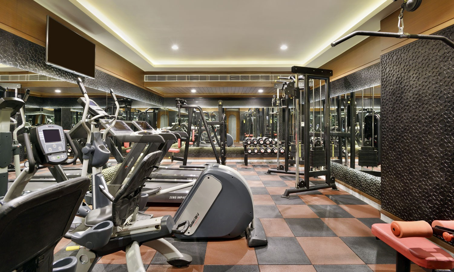 Fitness Club Radisson Hotel, Jodhpur