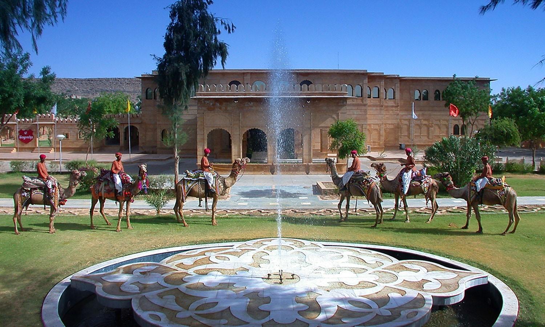 Facade, Gorbandh Palace Jaisalmer