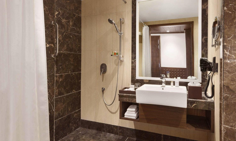 Bathroom The Ramada Agra