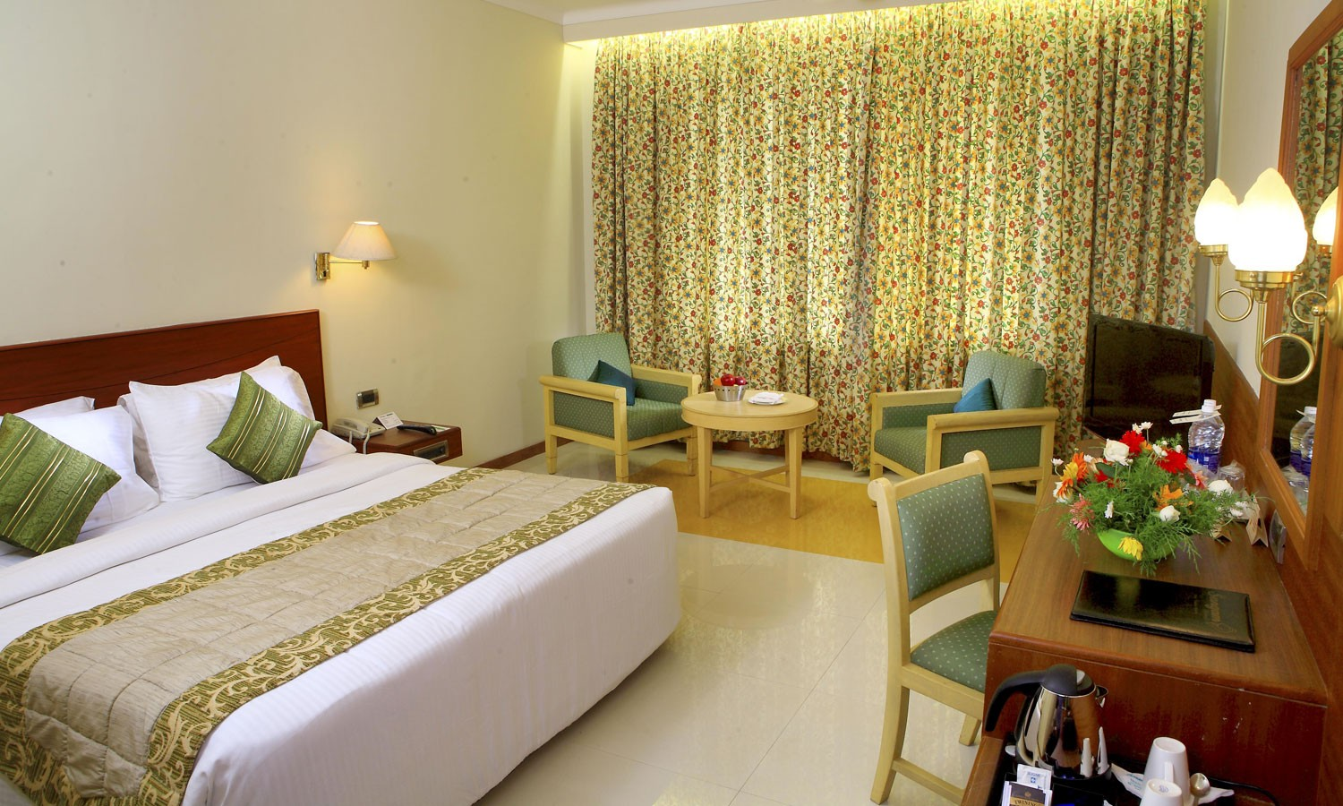 Double Bedroom Sangam Hotel Tanjore