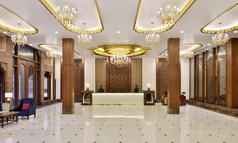 Lobby Radisson Hotel, Jodhpur