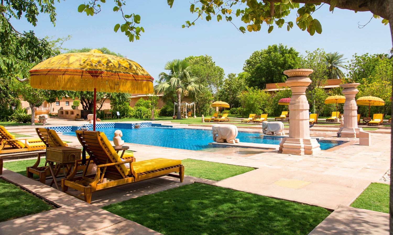 Pool, The Oberoi Rajvilas, Jaipur