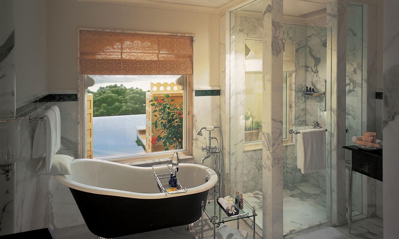 Bathroom, The Oberoi Udaivilas, Udaipur