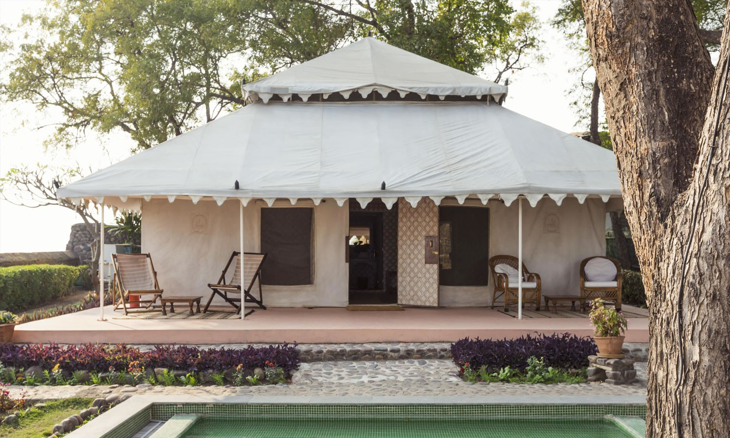Luxury Tent, Maheshwar