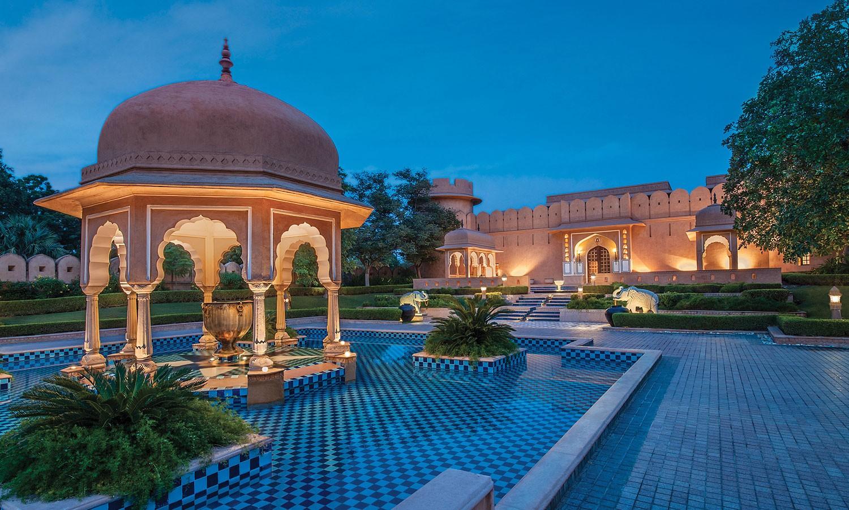 Facade, The Oberoi Rajvilas, Jaipur