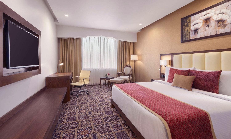 Double Bedroom The Ramada Agra