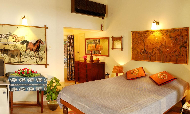 Double Bedroom, Maharani Bagh Orchard Retreat Ranakpur