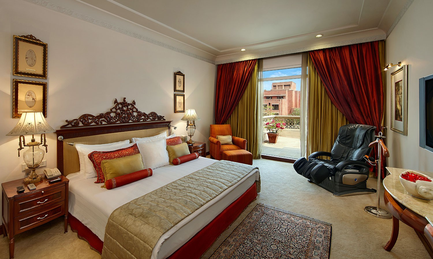 Double Bedroom ITC Rajputana Jaipur