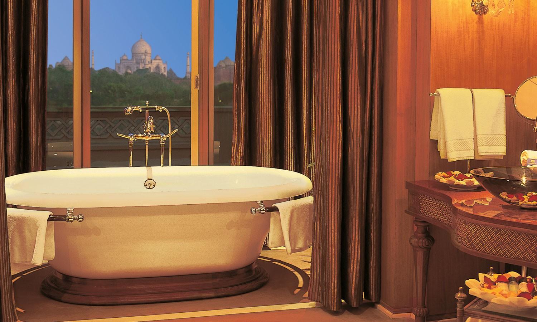 Suite Bathroom, the Oberoi Amarvilas, Agra