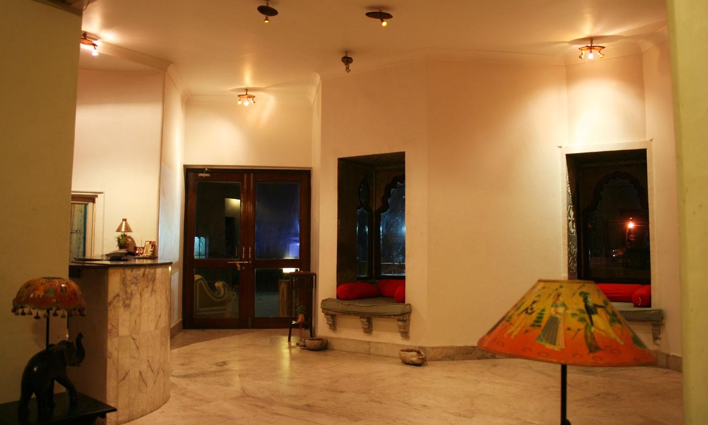 Lobby, Hotel Pratap Palace