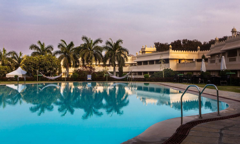 Pool Vivanta By Taj Aurangabad
