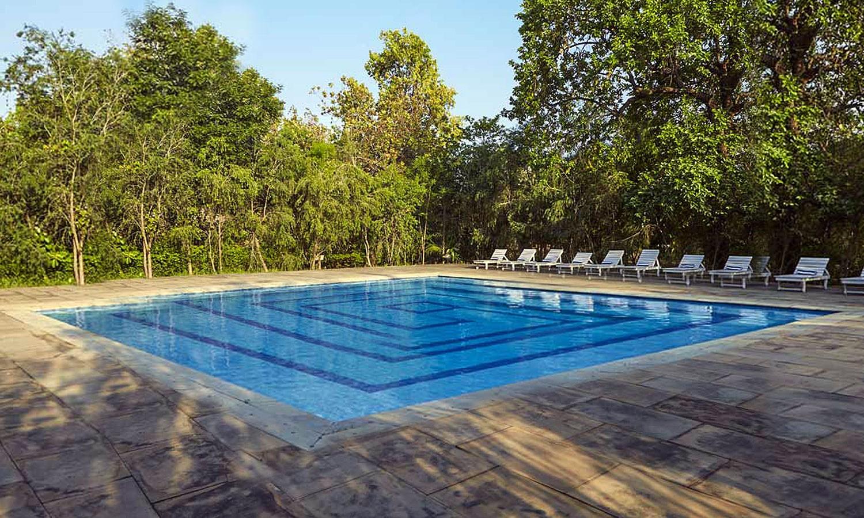 Pool, Hotel Bandhavila Bandhavgarh