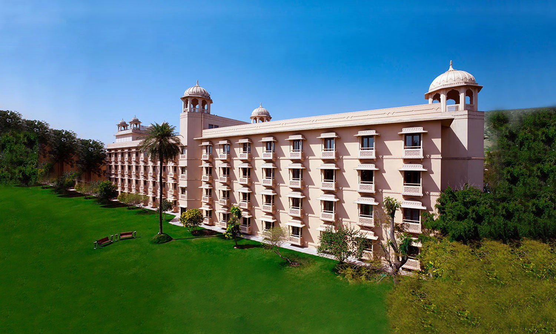 Facade Trident Hotel Jaipur