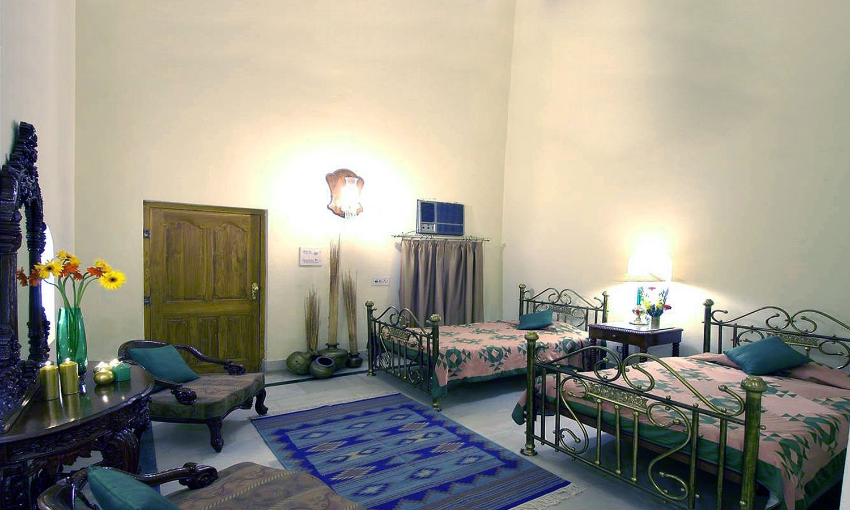Twin Bedroom Castle Mandawa