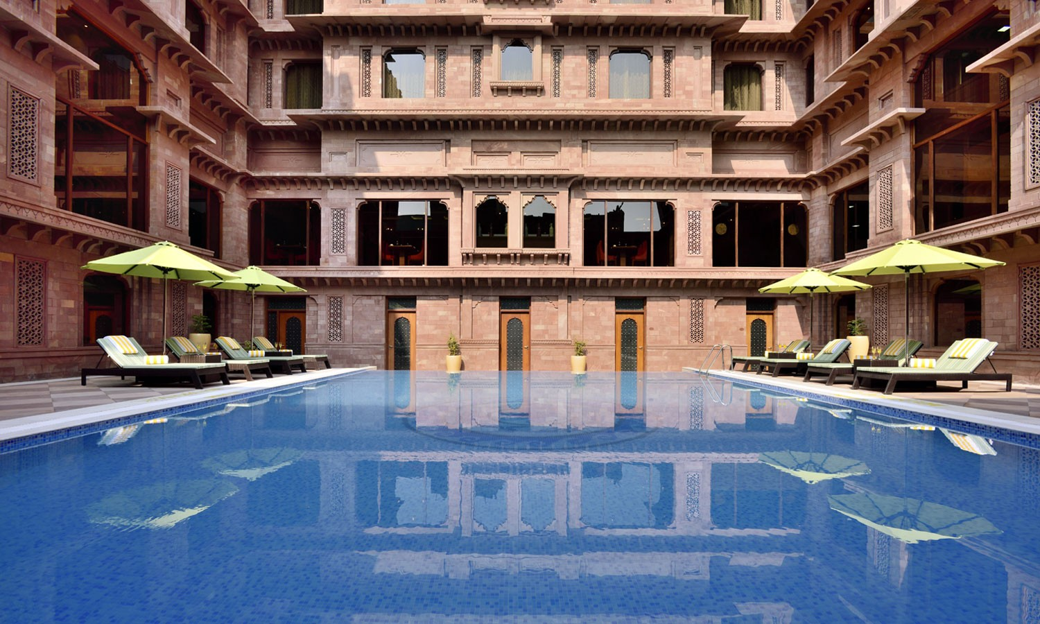 Pool Radisson Hotel, Jodhpur