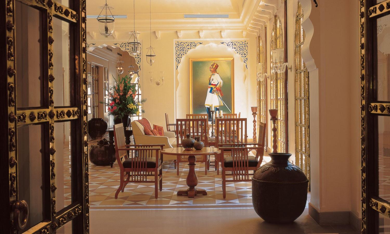 Lobby, The Oberoi Rajvilas, Jaipur