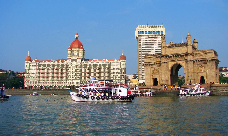 Facade Taj Palace Mumbai