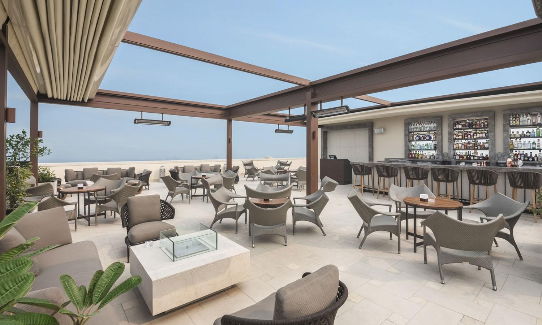Rooftop bar, The Oberoi, New Delhi