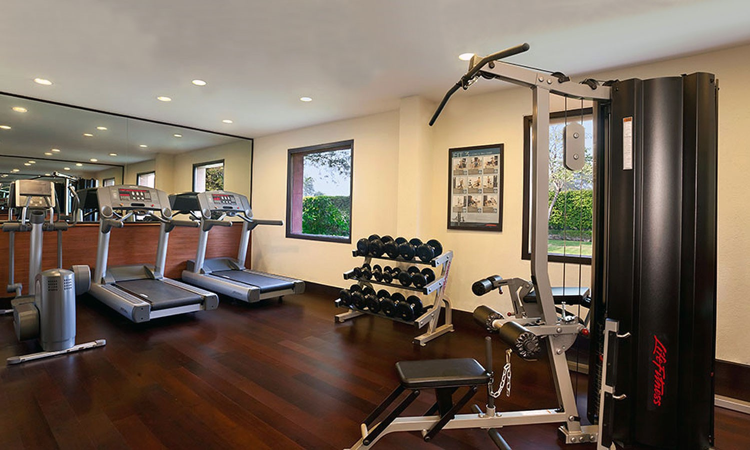 Fitness Centre Trident Hotel Agra