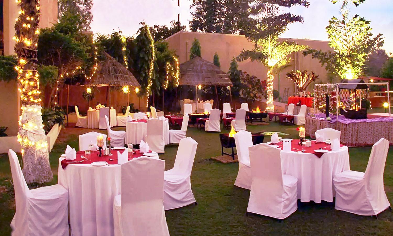 Restaurant Clarks Hotel Khajuraho