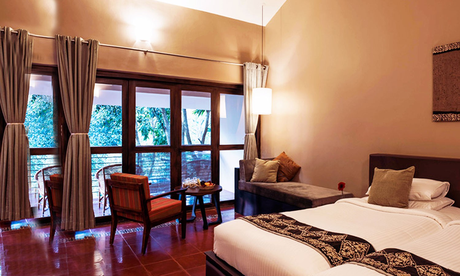 Twin Bedroom Cardamom County Thekkady