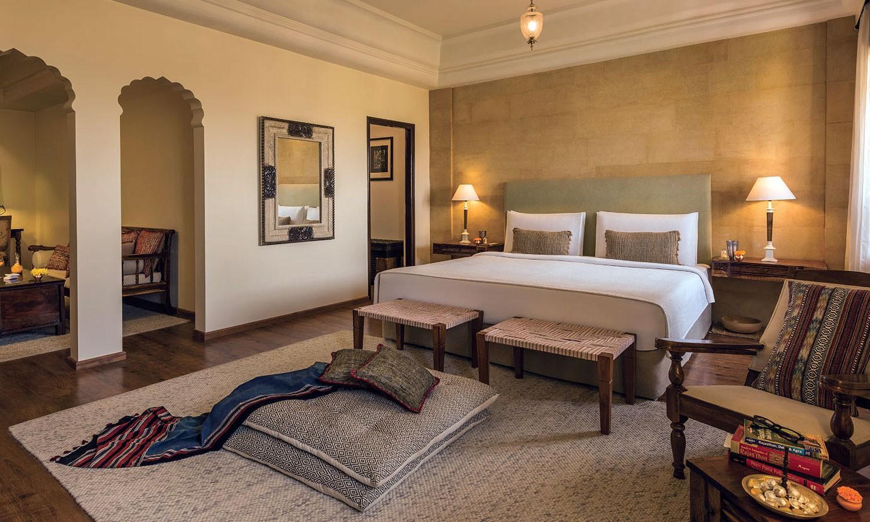 Double Bedroom, Suryagarh, Jaisalmer