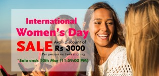 International Women's day sale